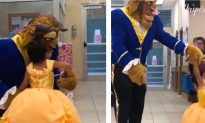 Father of the Year Dresses up as Beast to Make His Daughter's Dream a Reality