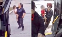 Bus Driver Spots Baby Boy Wandering Alone on Highway and Immediately Jumps out of the Bus