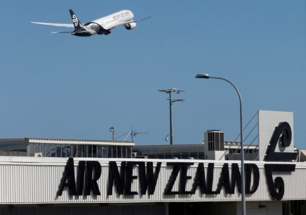 air new zealand flight