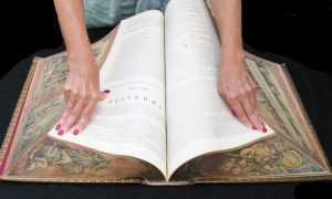 The Disappearing Art of Vanishing Fore-Edge Painting