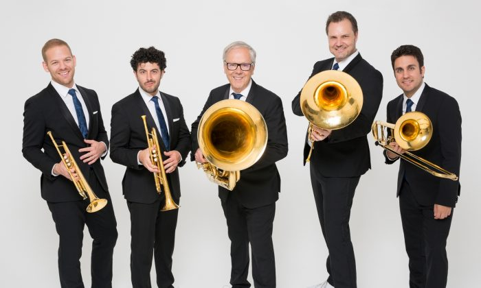 The Canadian Brass will perform at the 2019 Ottawa Chamberfest, which runs from July 25 to Aug. 8. (Daniel D'Ottavio)