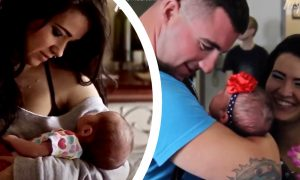 Marine Returns Home After Long Separation to Finally See Baby Daughter for the First Time