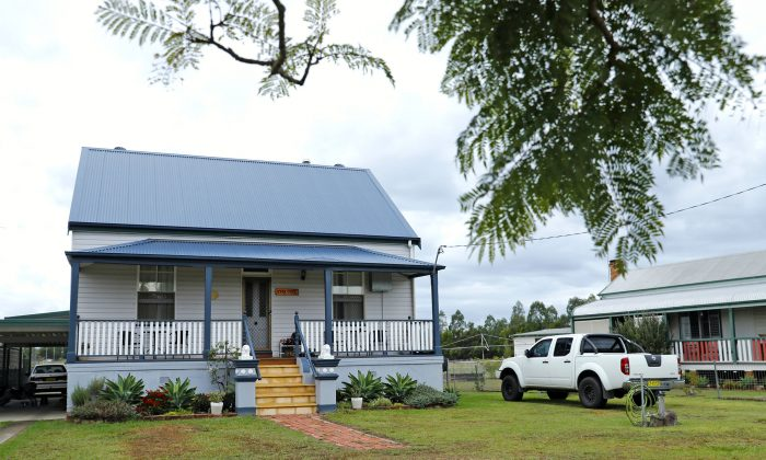 The former home of suspected terrorist Brenton Tarrant in Grafton, Australia, on March 16, 2019. (Regi Varghese/Getty Images)