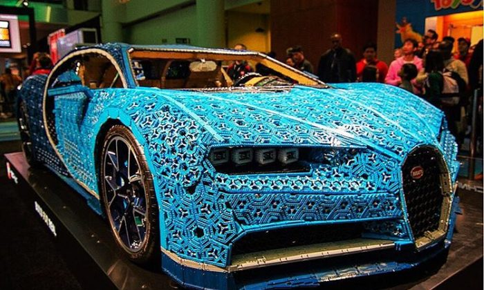 LEGO Bugatti Chiron. (Canadian International AutoShow)