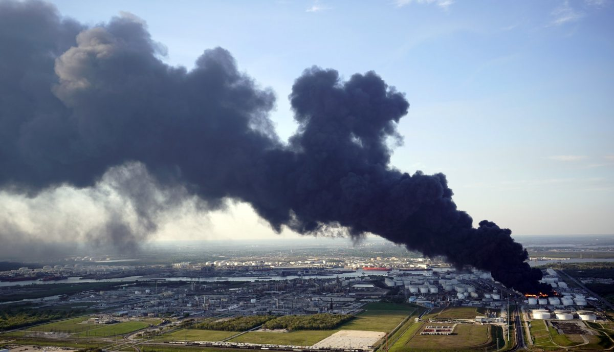 Petrochemical fire Texas 6