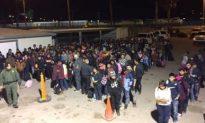 El Paso Border Crosser Apprehensions Up 500 Percent, Over 400 Caught in 5 Minutes