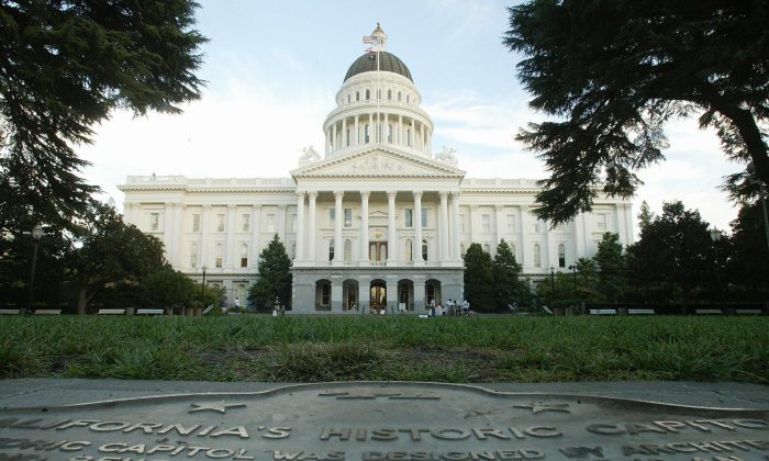 The State Capitol Building in Sacramento, Calif. (ROBYN BECK/AFP/Getty Images)