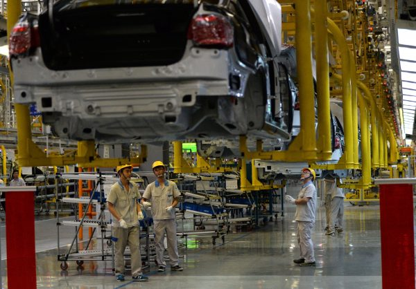 CHINA-GERMANY-AUTO-FAW-VOLKSWAGEN