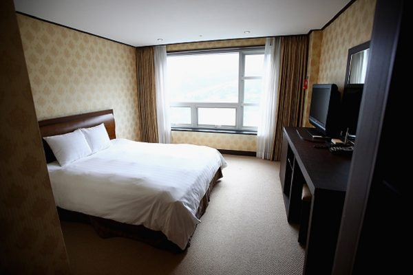 The Orient Resort Hotel media accomodation to be used for the 2018 PyeongChang Winter Olympics located at Phoenix Park Resort