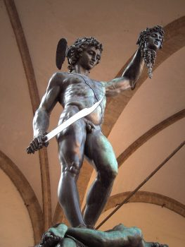 Perseus and head of Medusa