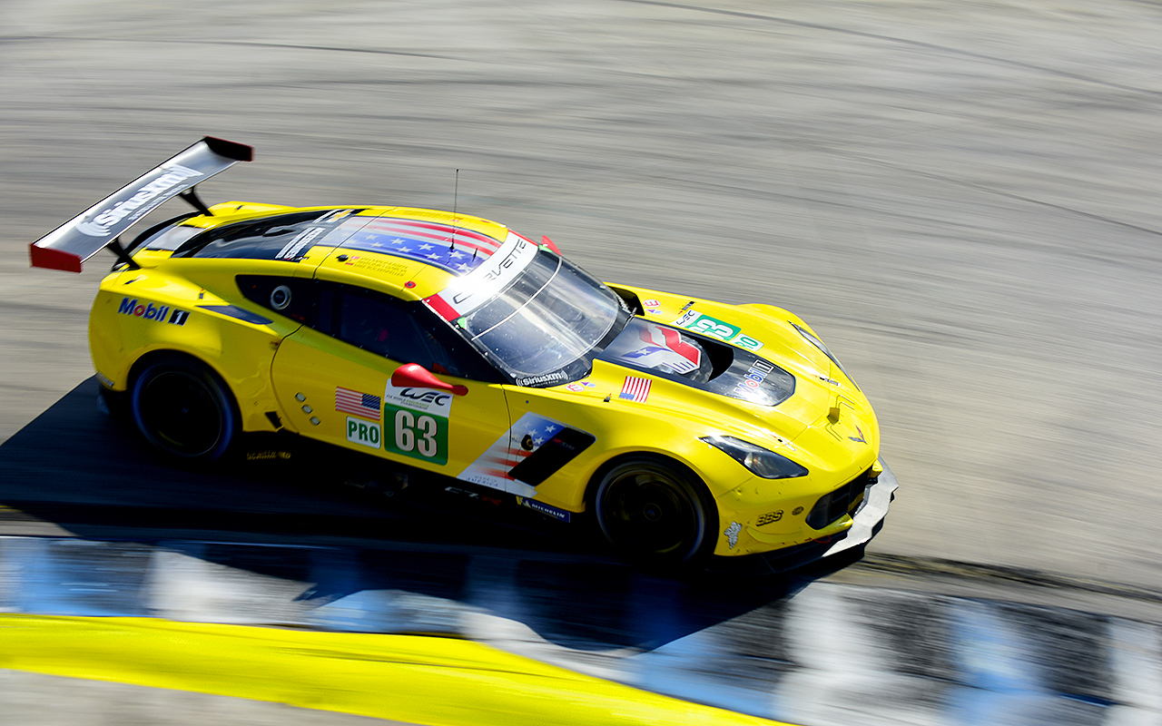 The Corvette finished 8th in class.
