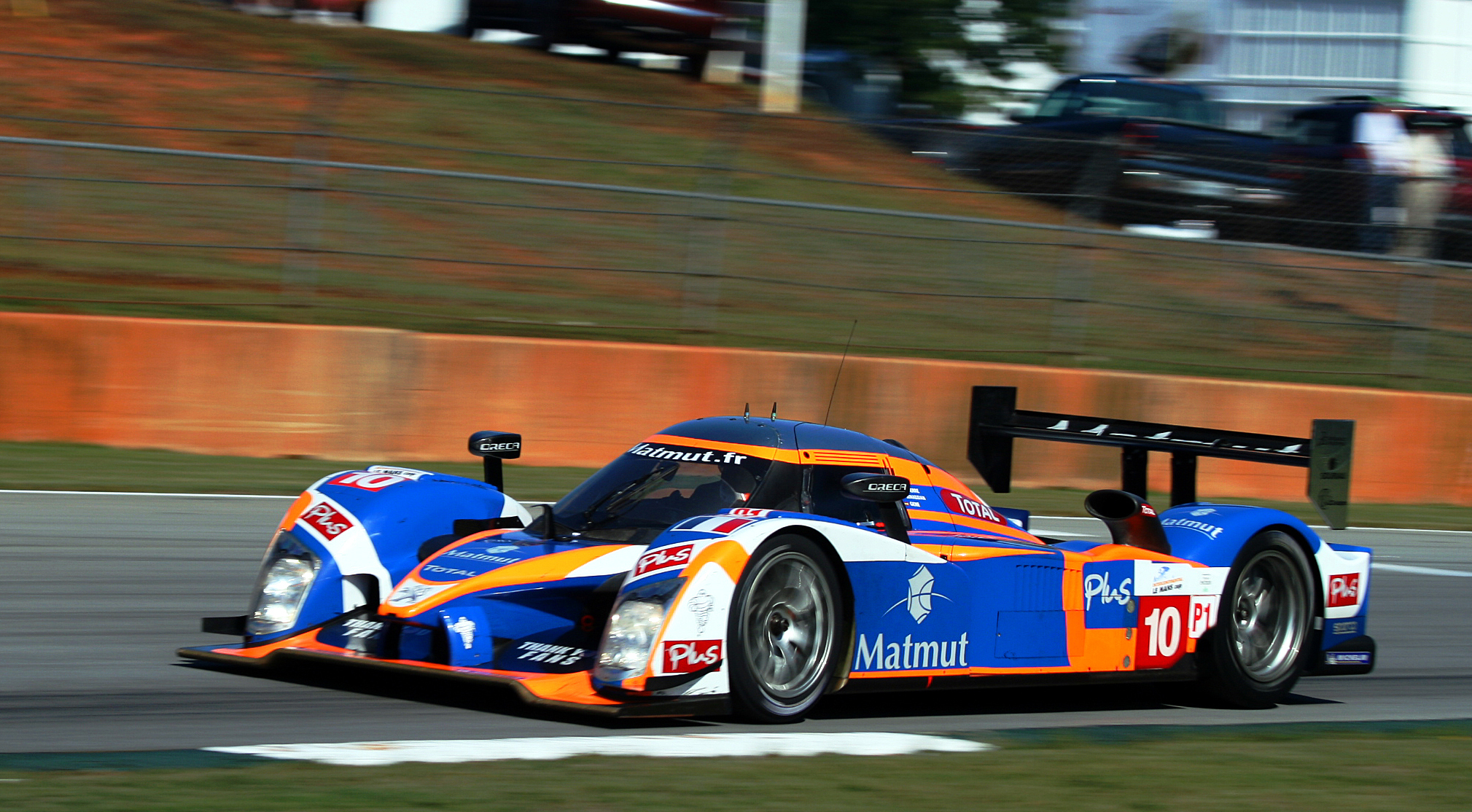 Oreca-Matmut's Peugeot 908 won the 2011 Sebring 12 Hours.
