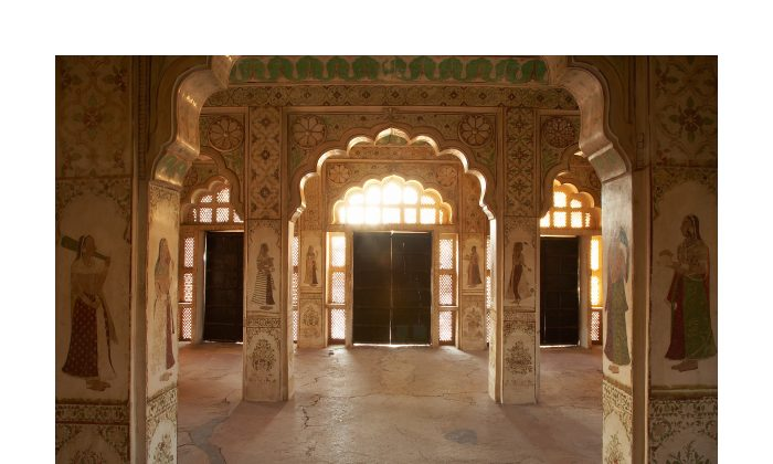 Interior of the Mehrangarh Fort, Jodhpur, India. (Neil Greentree)