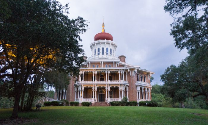 Longwood, the largest octagonal home in the United States. (Crystal Shi/The Epoch Times)