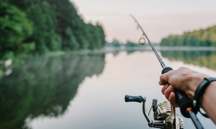 A stock photo shows fishing (Illustration - Shutterstock)