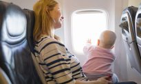 Man 'Dreads' Sitting Near Baby on Flight, Then Parents Give Him Mystery Bag With a Note