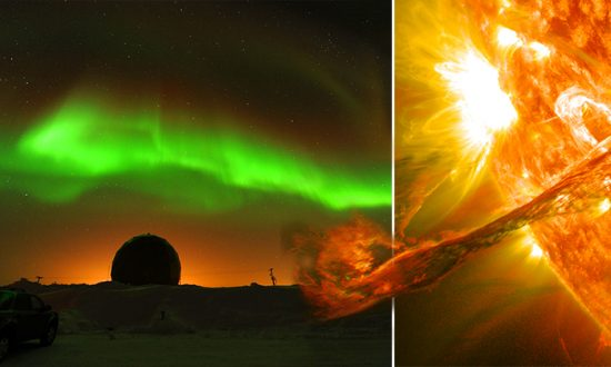 The Time Aurora Borealis was so Powerful It Set Fire to Observation Equipment