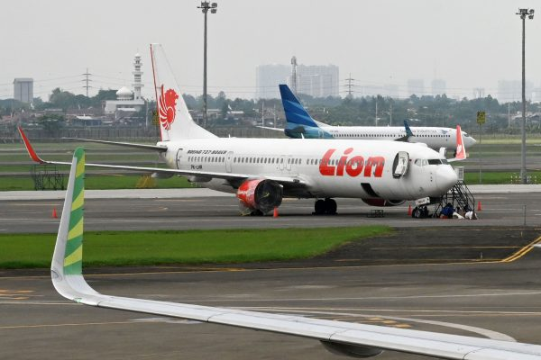Lion Air planes Jakarta Indonesia