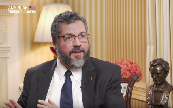 Exclusive: On Brazil Joining NATO and Defending the Soul of the West—Foreign Minister Ernesto Araujo