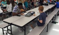 Mom Gets Photo of Autistic Son Eating Lunch. Seeing Who He's With, She Posts Online