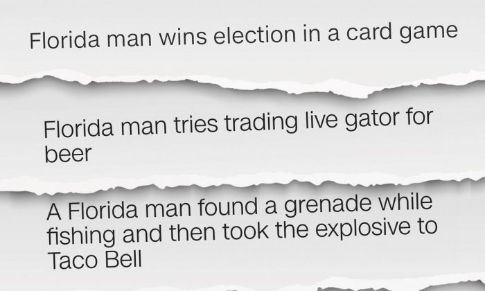 "Florida has earned a reputation for being home to some colorful characters -- most notably the ""Florida man,"" on March 22, 2019. (CNN)"