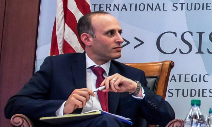 National Security Division Deputy Assistant Attorney General Stuart Evans in Washington on Sept. 14, 2016. (Zach Gibson/AFP/Getty Images)