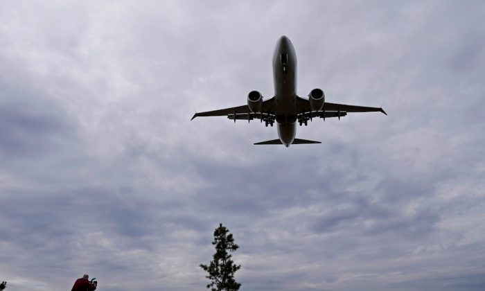 A stock photo of a plane. (Reuters/Joshua Roberts)