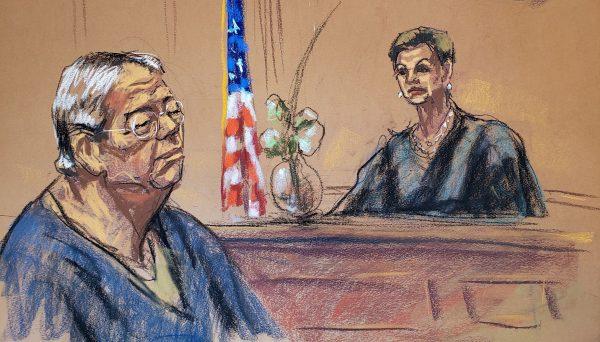 Chi Ping Patrick Ho sentenced in a bribery trial by District Judge Loretta Preska in New York