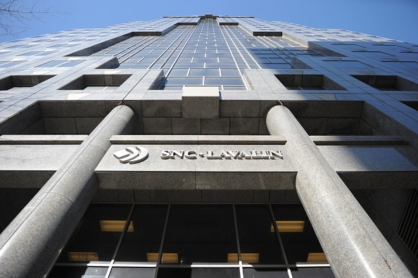 The SNC-Lavalin headquarters in Montreal, Canada, on Feb. 28, 2019. (JULIEN BESSET/AFP/Getty Images)