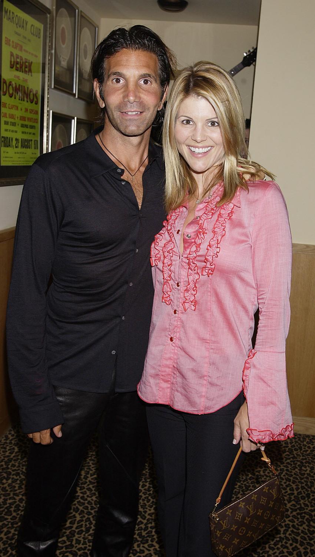 Actress Lori Laughlin and husband