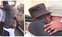 Man Released From Prison Meets His Dad for the First Time in 37 Years
