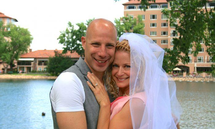 Evan and Susan Money after wedding #19 in Colorado Springs, Colorado. (Courtesy of Evan and Susan Money)