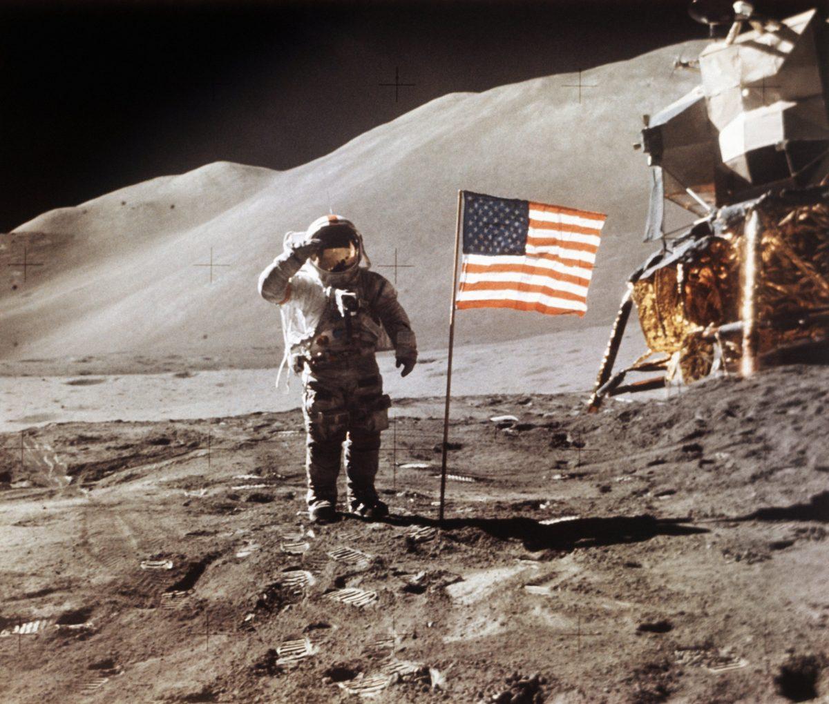 Apollo 15 Lunar Module Pilot James B. Irwin