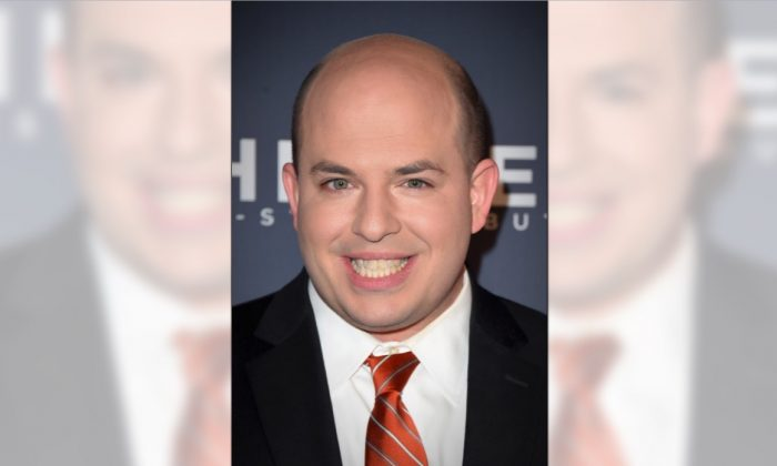 Correspondent Brian Stelter attends an event at the American Museum of Natural History in New York CIty on Dec. 17, 2017. (Michael Loccisano/Getty Images for CNN)