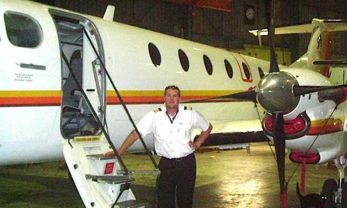 Pilot Charl Viljoen reportedly flew a twin-engine aircraft into a building at the Matsieng Airstrip, several miles north of Gaborone, Botswana on March 23, 2019. (Facebook/Aerospaceafricatv)