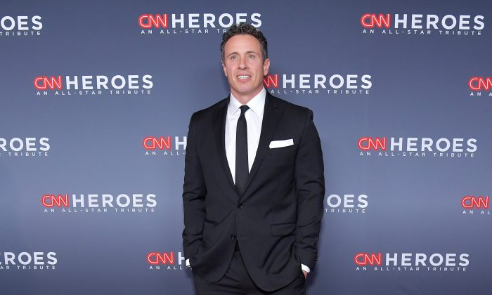 Chris Cuomo attends the 12th Annual CNN Heroes: An All-Star Tribute at American Museum of Natural History in New York City on December 9, 2018. (Michael Loccisano/Getty Images for CNN )