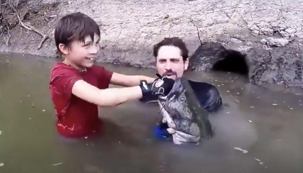 to son gloryhole takes Dad
