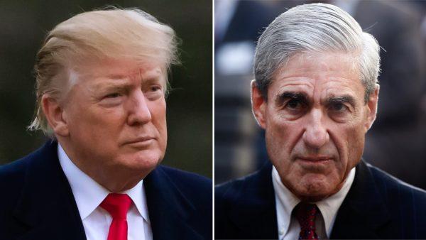 President Trump and Robert Mueller