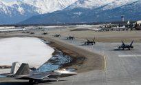 Photos: F-22 Raptors in 'Elephant Walk' at Alaska Air Force Base