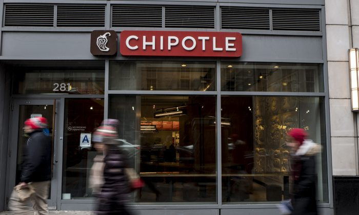 A Chipotle restaurant in a file photograph. (Andrew Renneisen/Getty Images)