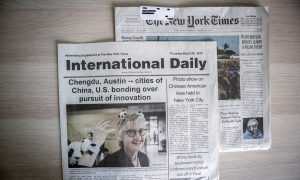 It's Time to Address Paid Chinese Disinformation in US Newspapers