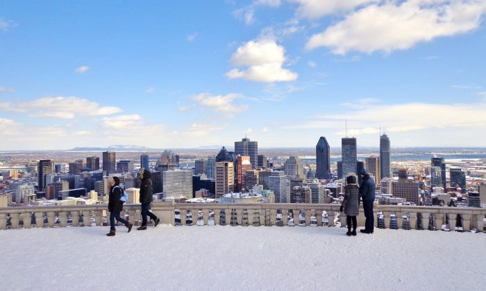 View of downtown Montreal. (Shutterstock)
