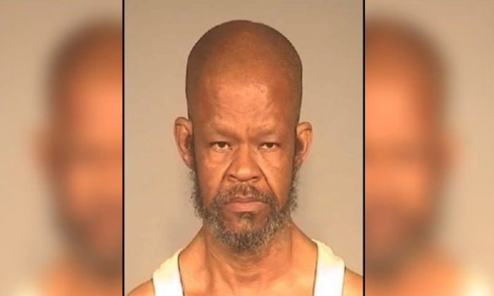 Philip Ray Lester, 61, was arrested and charged with assault with a deadly weapon in connection with an incident in Fresno, Calif., on March 26, 2019. (Fresno Police Department)