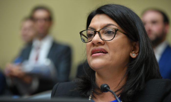 Rep. Rashida Tlaib (D-Mich.) in the Rayburn House Office Building on Capitol Hill on Feb. 27, 2019. (Mandel Ngan/AFP/Getty Images)