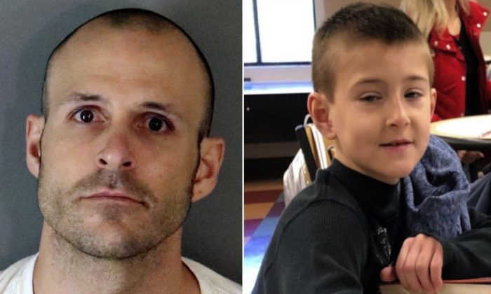 Bryce McIntosh (L) and Noah McIntosh (R). McIntosh was charged with first-degree murder with the special circumstance of torture in the death of Noah McIntosh, said Riverside County District Attorney Mike Hestrin on March 28, 2019. (Corona Police Department/AP)
