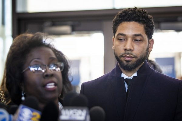 Jussie Smollett and attorney Patricia Brown