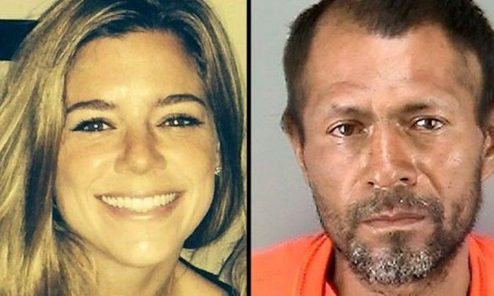 Kate Steinle and Ines Jose Garcia-Zarate. (Facebook, SFPD)