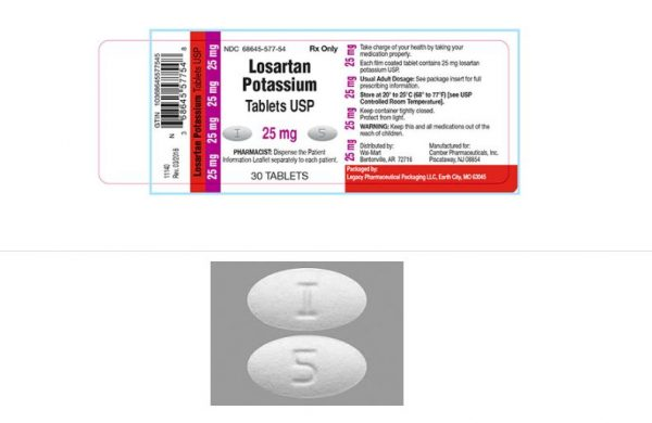FDA Alert: Legacy Pharmaceutical Recalls More Losartan Tablets