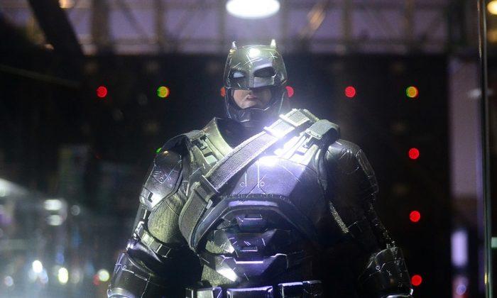 An picture of the superhero Batman. (Ralpoonvast/Pixabay)