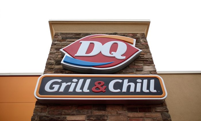 A Dairy Queen signage in Charlotte Hall, Md. on Oct. 10, 2014. (Win McNamee/Getty Images)